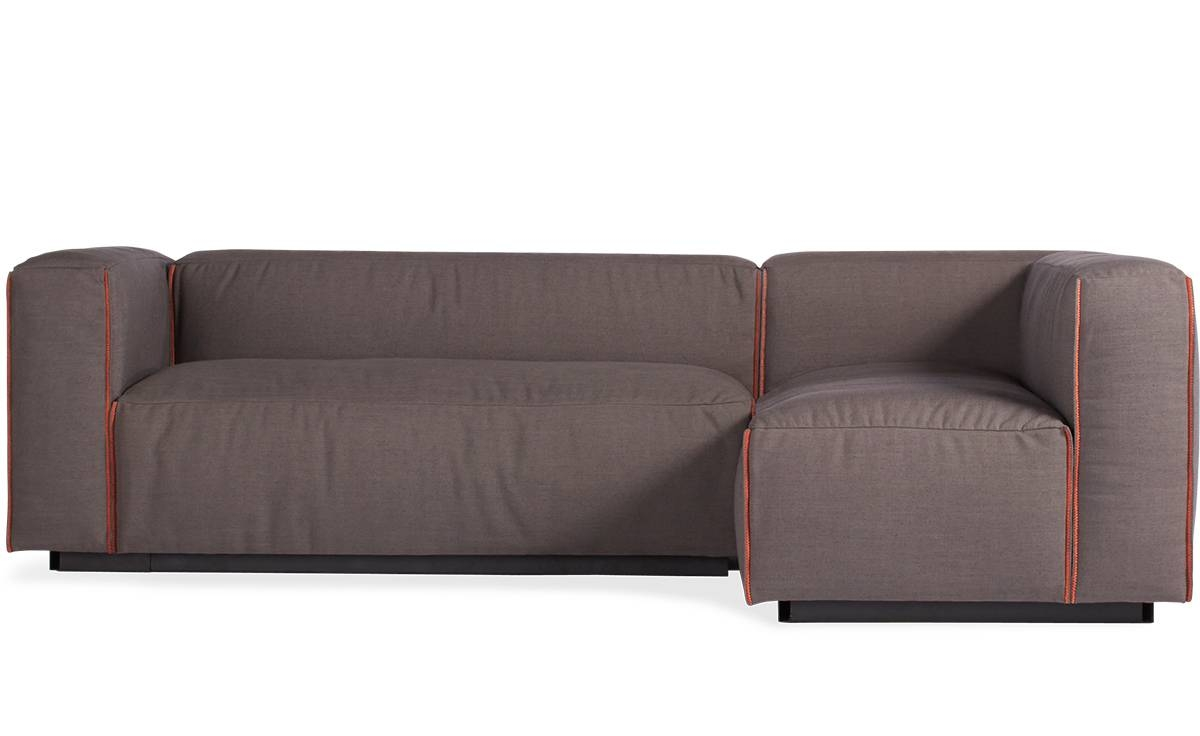 Cleon Small Sectional Sofa - Hivemodern pertaining to Small Sectional Sofa (Image 6 of 30)