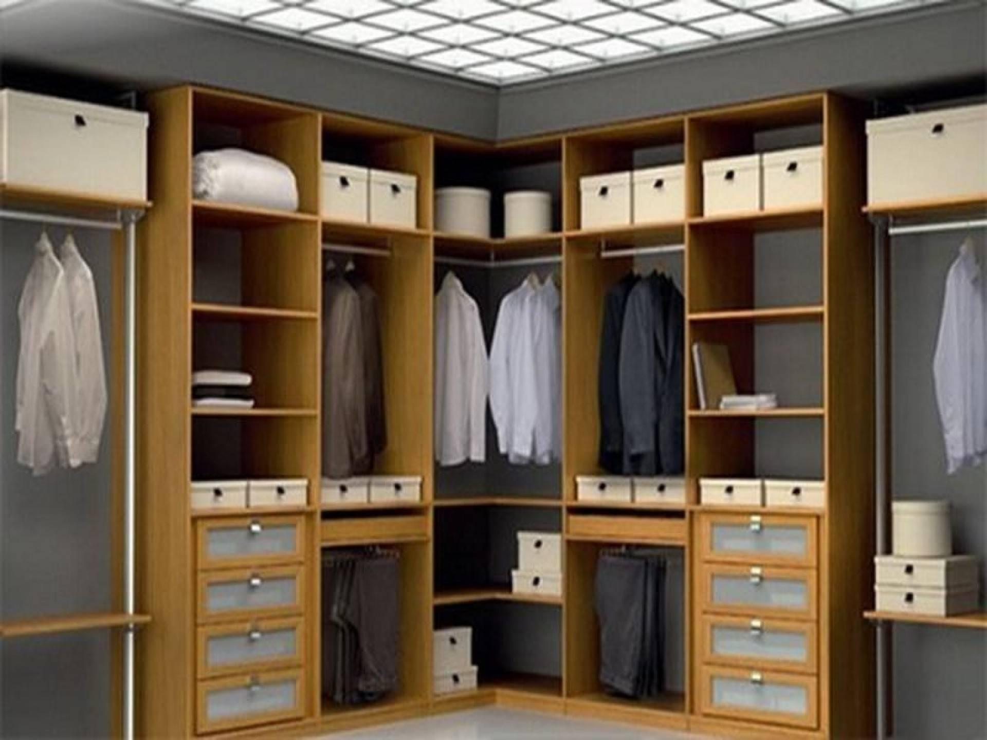 Closet Design: Corner Closet Ideas Images. Corner Closet Ideas regarding Small Corner Wardrobes (Image 8 of 15)