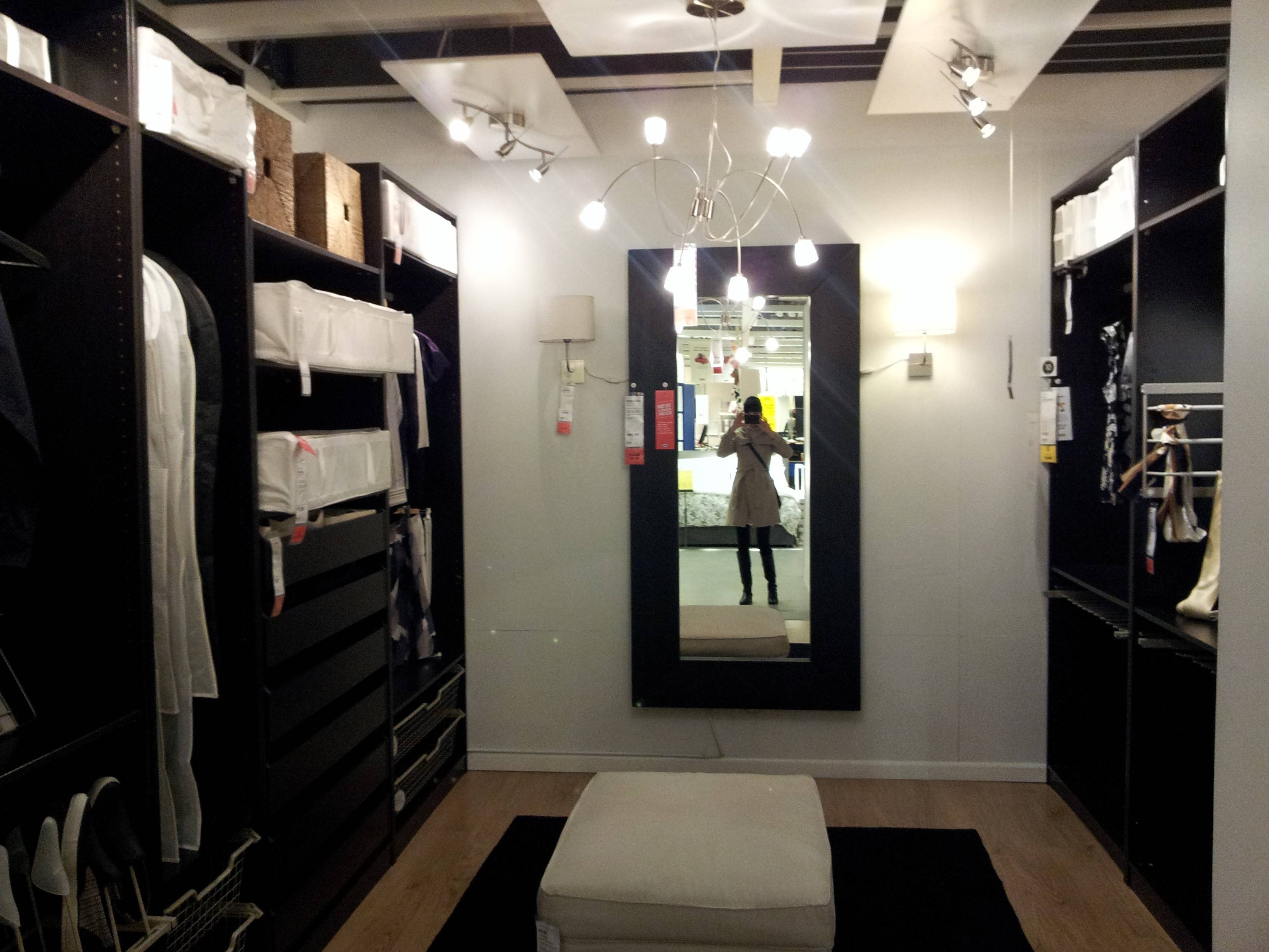 Closet Solutions Ikea. Delightful Ikea Closet Organizer Design intended for Dark Wood Wardrobes Ikea (Image 7 of 30)