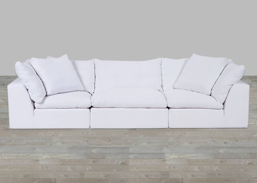 Featured Photo of White Fabric Sofas