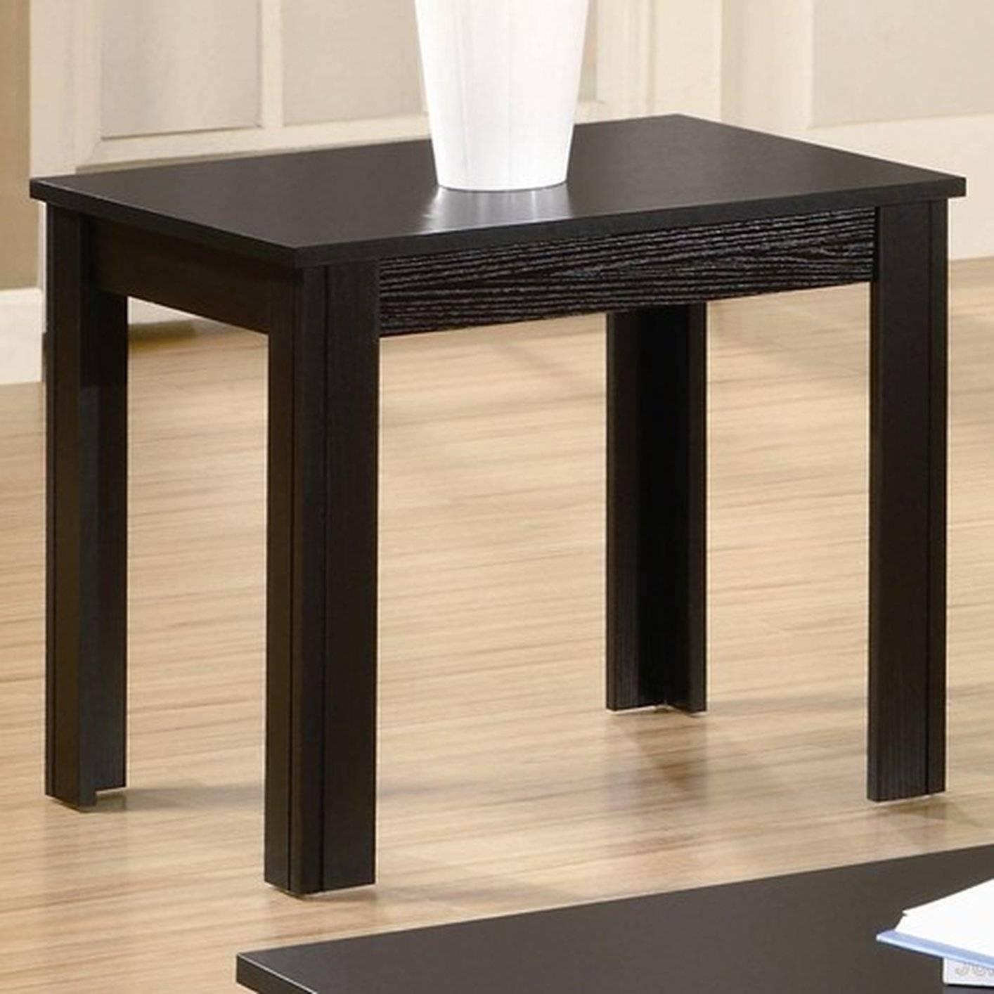 Coaster Bachman 700225 Black Wood Coffee Table Set - Steal-A-Sofa for Black Wood Coffee Tables (Image 10 of 30)