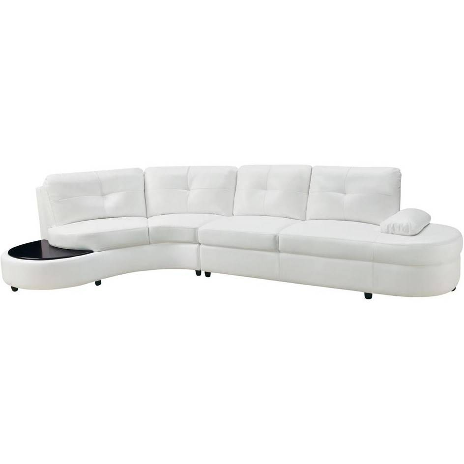 Coaster Furniture 503431 Talia Contemporary Sectional Conversation inside Conversation Sofa Sectional (Image 7 of 30)