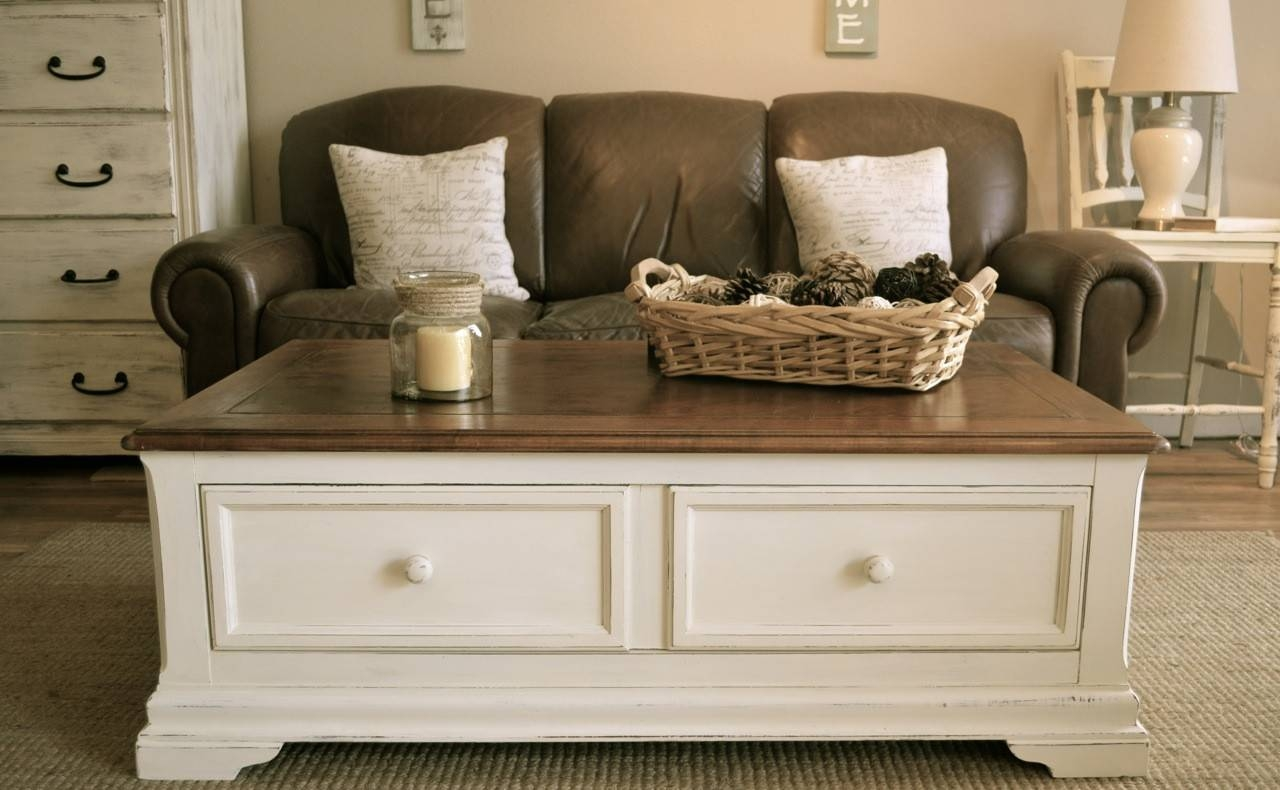 Coffee Also White Square Coffee Table With Storage. Glamorous with White Coffee Tables With Baskets (Image 4 of 30)