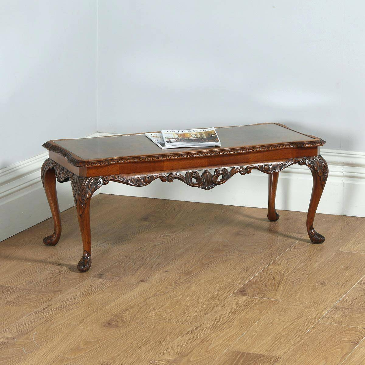 Coffee Table ~ 18Th Century Antique Reproduction Coffee Tables regarding Campaign Coffee Tables (Image 8 of 30)