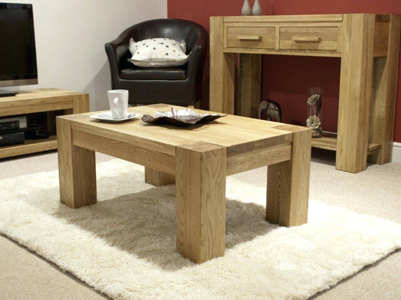 Coffee Table ~ 2017 Trends Coffee Tabletrendy Table Uk Coffee in Chunky Oak Coffee Tables (Image 13 of 30)