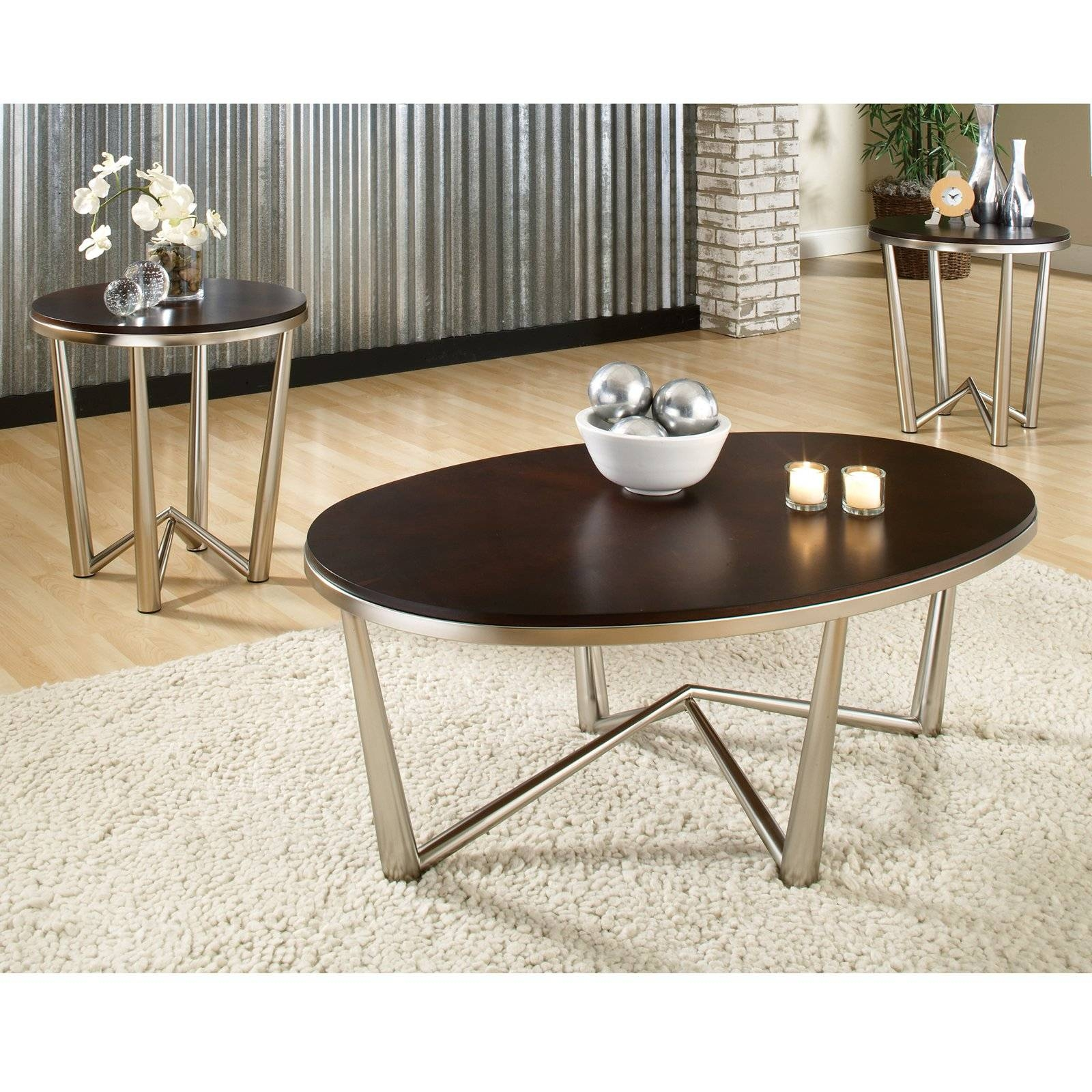 Coffee Table : 3 Coffee Table Set My Existing Coffee Table In within Oval Shaped Coffee Tables (Image 5 of 30)