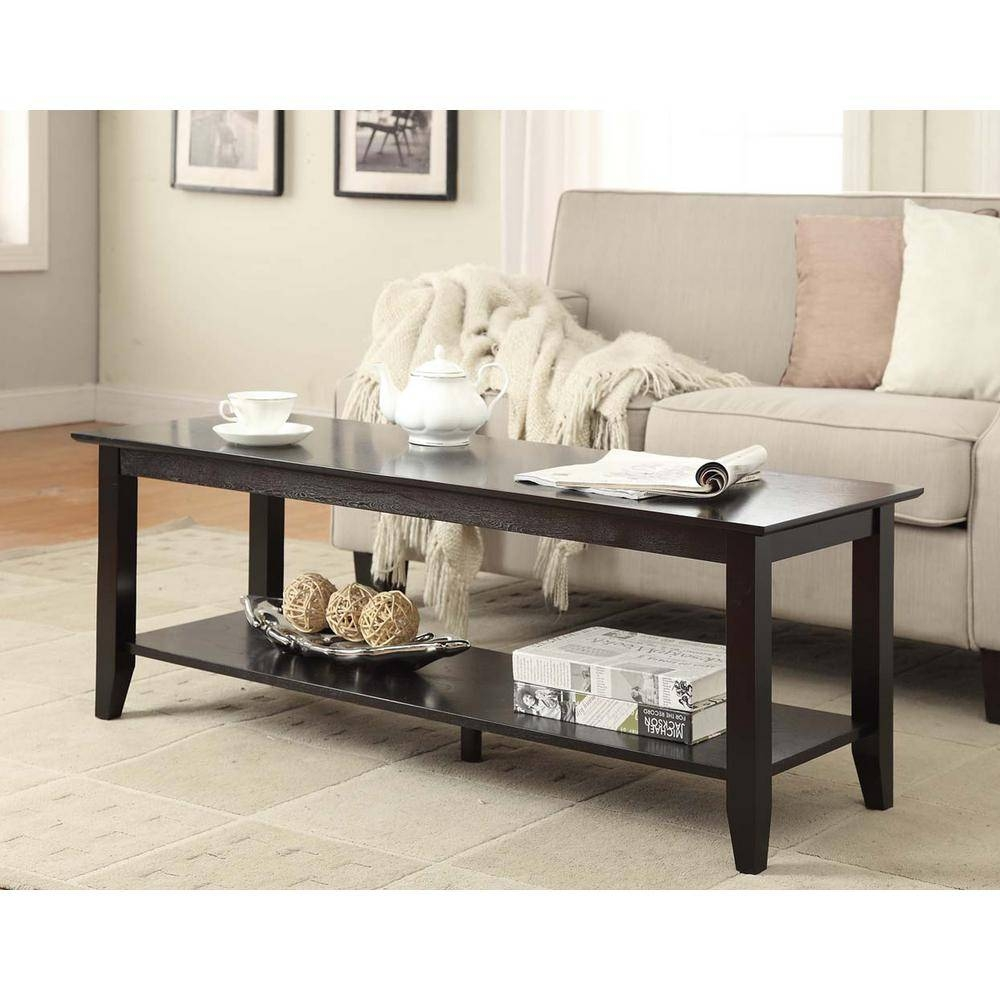 Coffee Table - Accent Tables - Living Room Furniture - The Home Depot throughout Heritage Coffee Tables (Image 10 of 30)