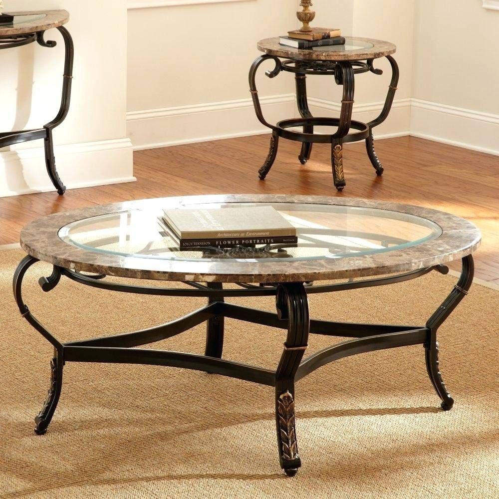 Coffee Table ~ Alice Wood Glass Metal Coffee Tableglass And throughout Glass And Metal Coffee Tables (Image 3 of 30)