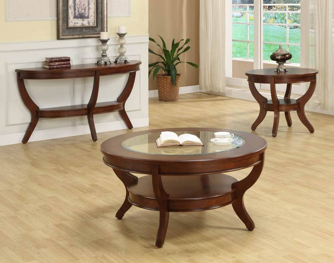 Coffee Table: Amazing Cherry Wood Coffee Table Ideas Round Cherry regarding Cherry Wood Coffee Table Sets (Image 14 of 30)