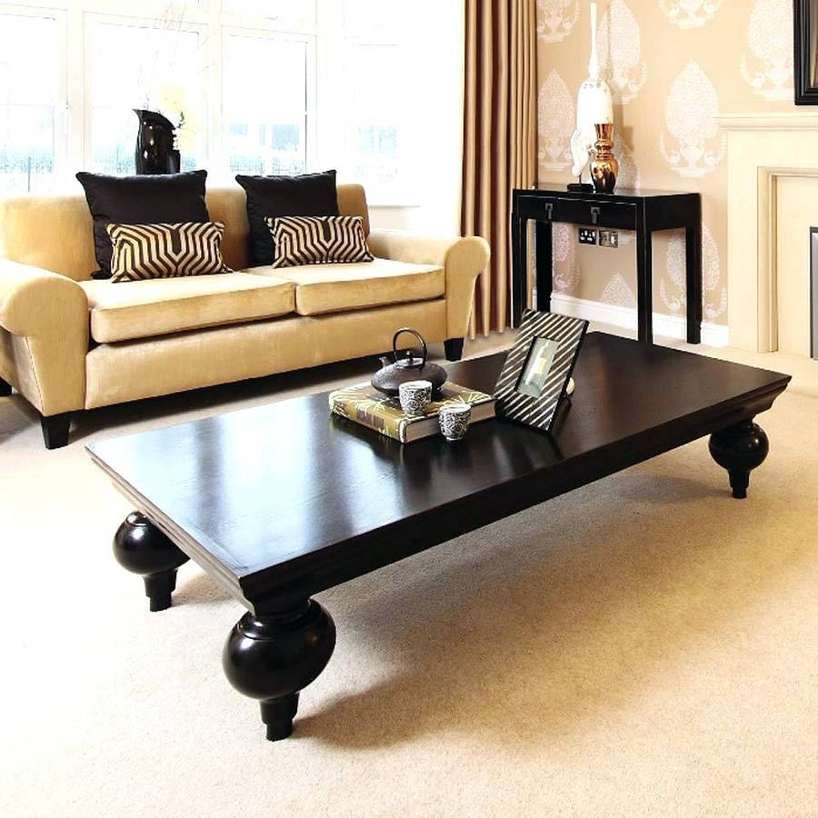 Coffee Table ~ Antique Black Gold Chinese Asian Coffee in Asian Coffee Tables (Image 9 of 30)