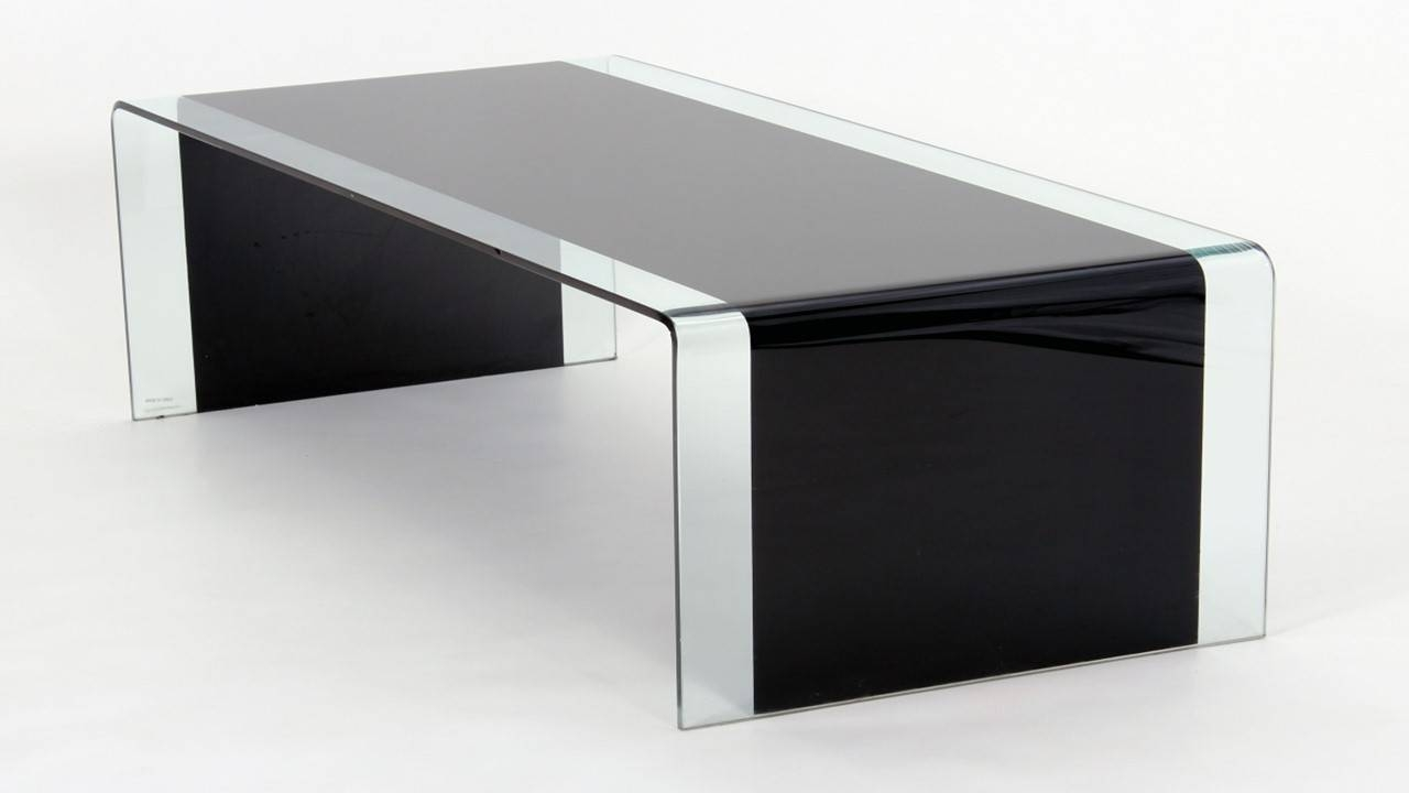Coffee Table: Appealing Black Glass Coffee Table Designs Glass for Dark Glass Coffee Tables (Image 17 of 30)