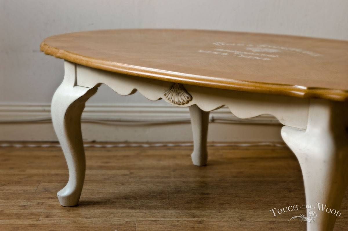 Coffee Table Archives - Touch The Wood regarding White Oval Coffee Tables (Image 1 of 30)