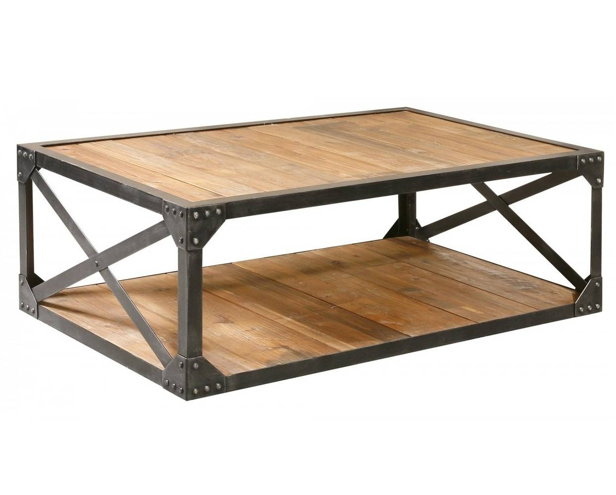 Coffee Table: Astounding Metal Coffee Table Ideas Wood Coffee throughout Metal Coffee Tables (Image 7 of 30)