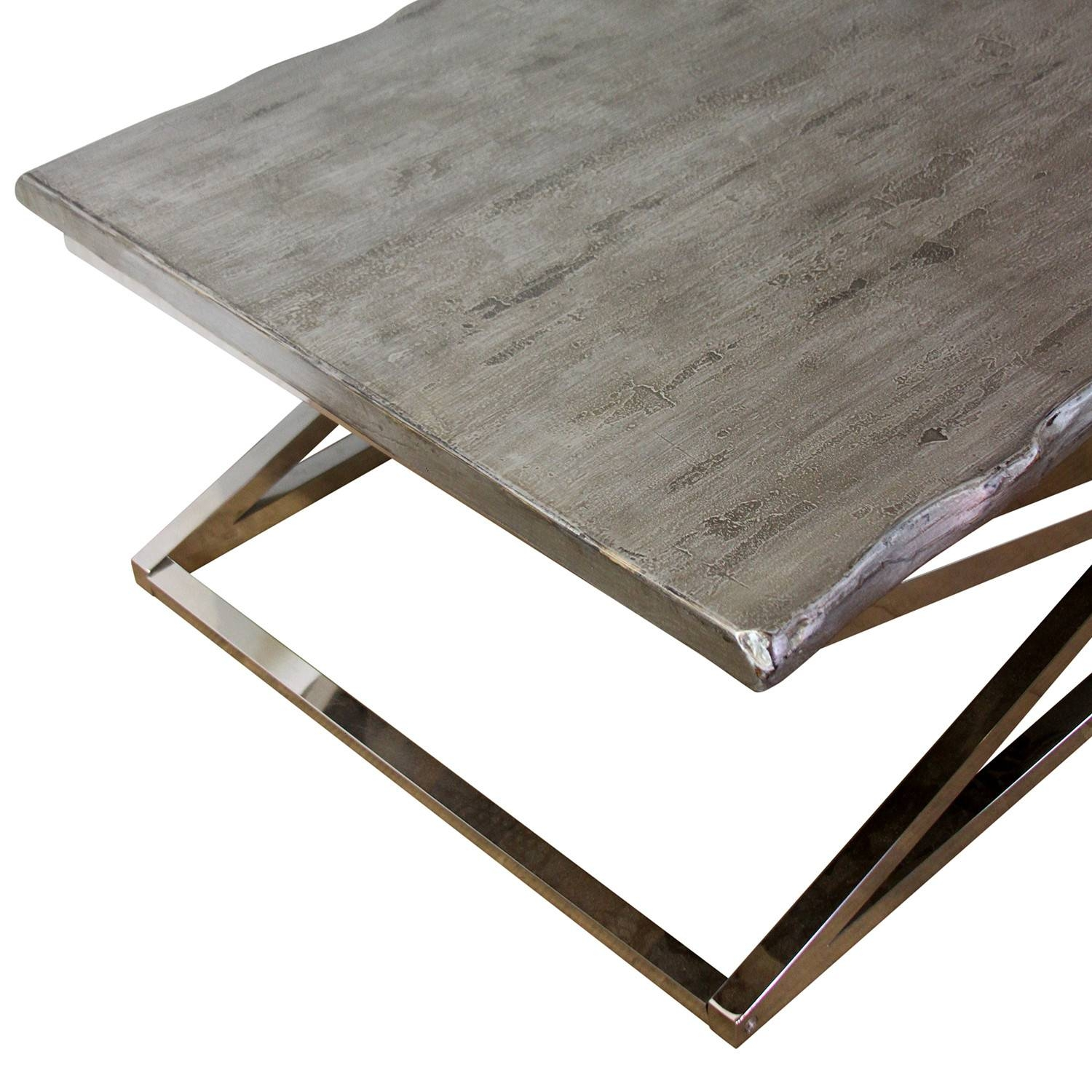 Coffee Table: Awesome Chrome Coffee Table Designs Chrome And in Rectangle Glass Chrome Coffee Tables (Image 10 of 30)