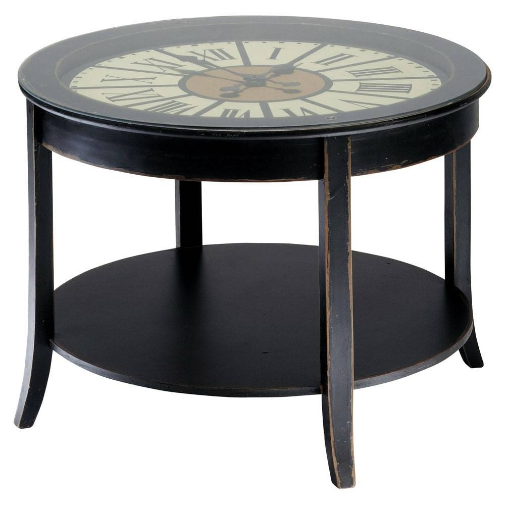 Coffee Table: Awesome Clock Coffee Table Designs Round Clock For Coffee Tables With Clock Top (View 14 of 30)