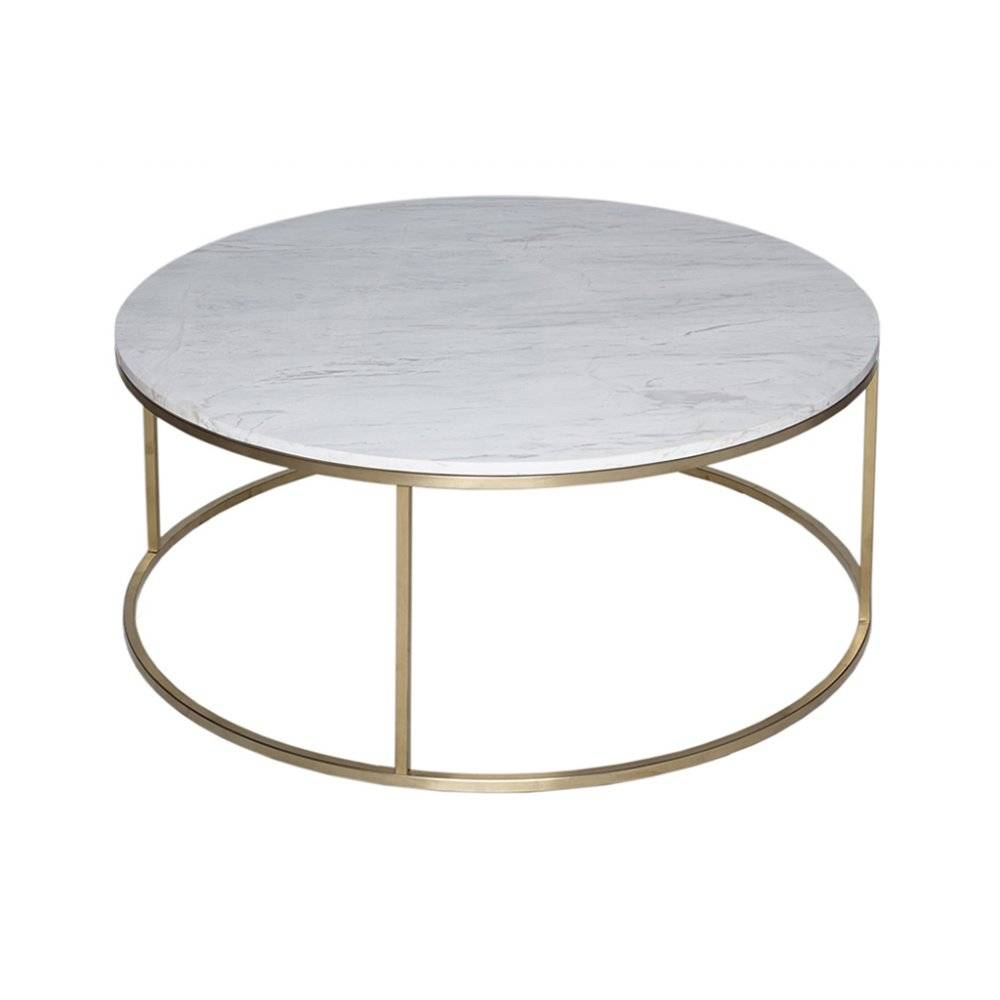Coffee Table: Awesome Gold Metal Coffee Table Ideas Gold Coffee regarding White Circle Coffee Tables (Image 9 of 30)