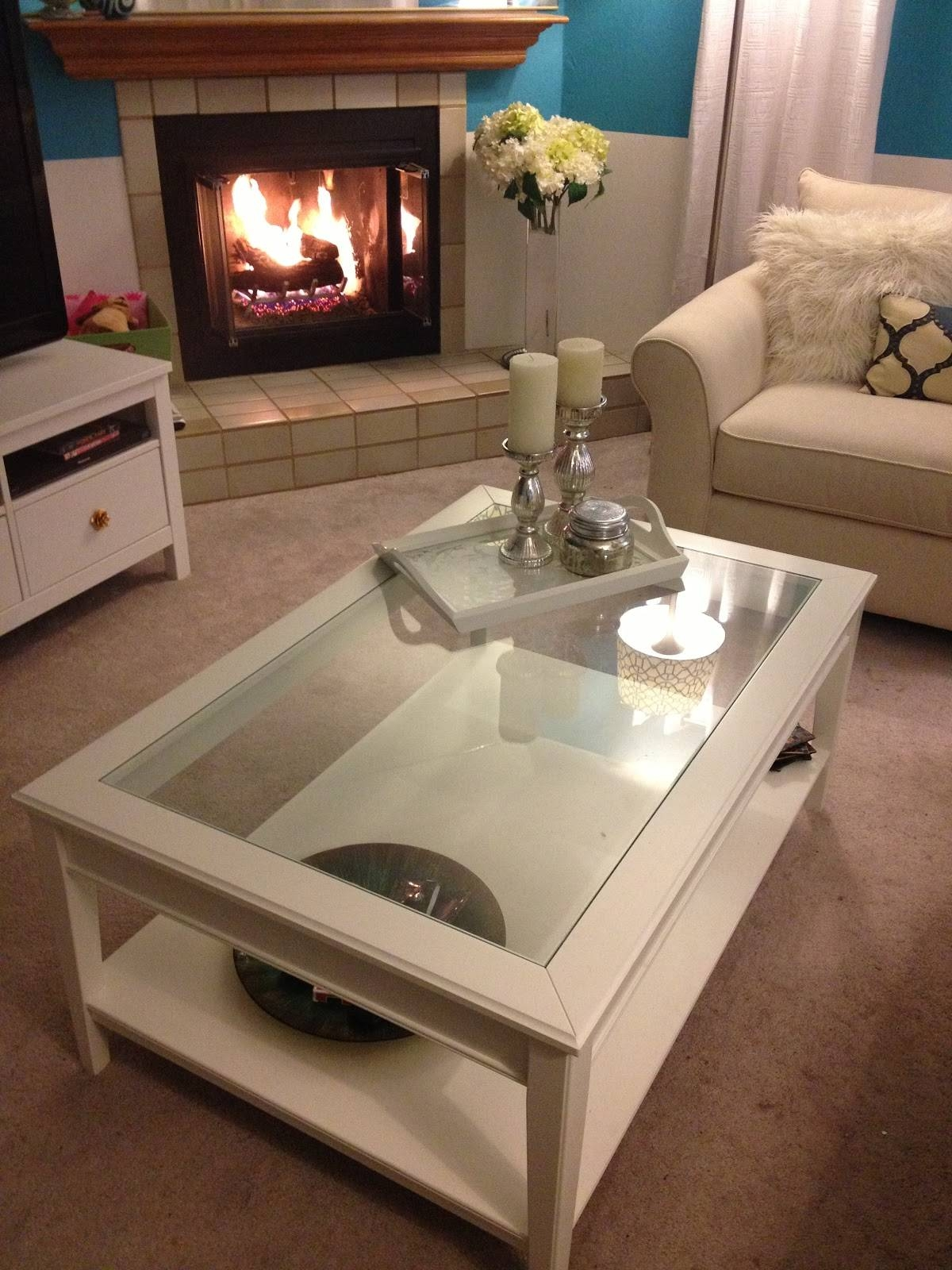 Coffee Table: Awesome Square Coffee Table Ikea Ideas Coffee Tables in White Wood And Glass Coffee Tables (Image 7 of 30)