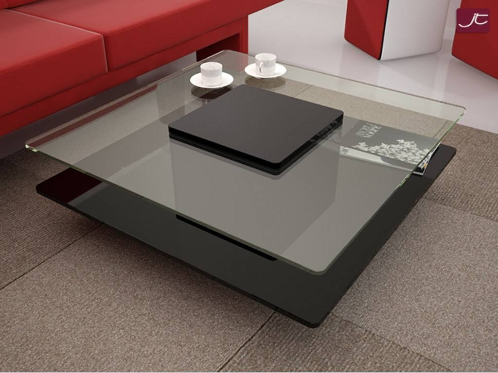 15 The Best Modern Square Glass Coffee Tables