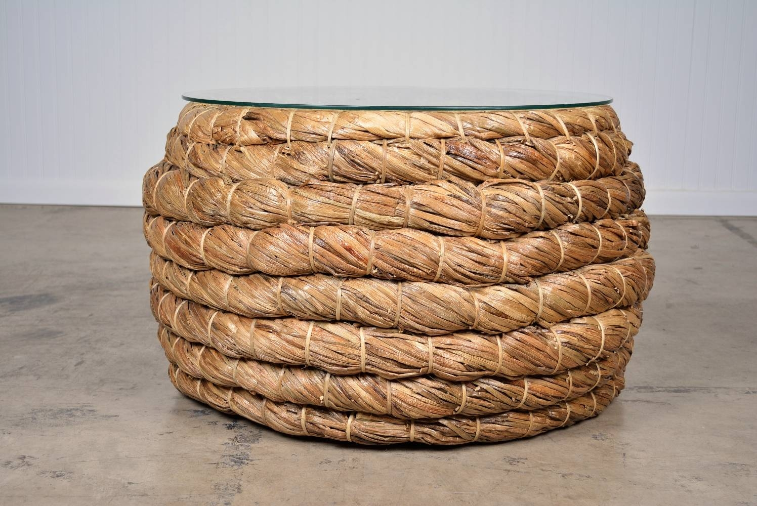 Coffee Table. Brilliant Woven Coffee Table Design Ideas for Round Woven Coffee Tables (Image 7 of 30)