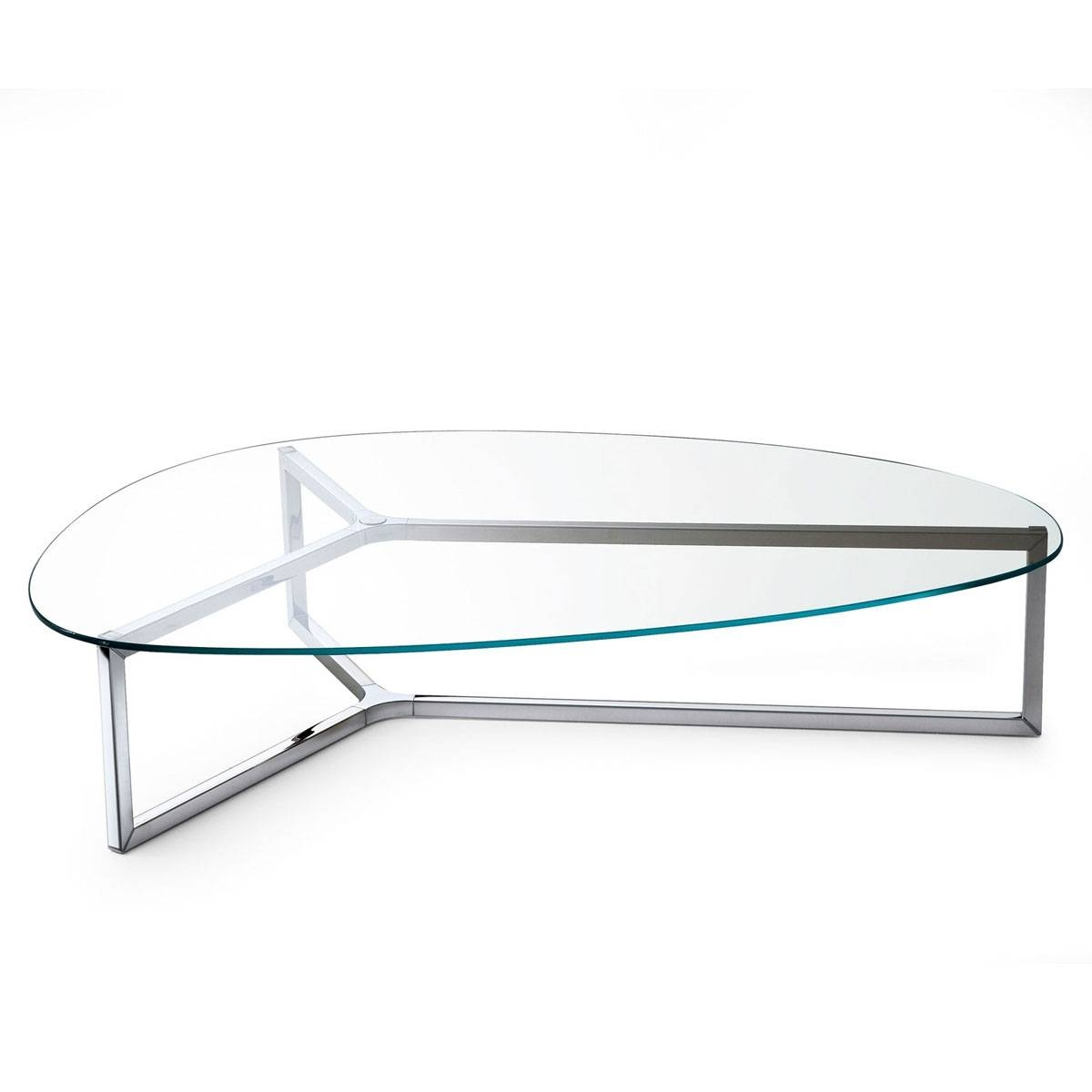 Coffee Table: Captivating Glass And Metal Coffee Table Design regarding Unusual Glass Coffee Tables (Image 5 of 30)