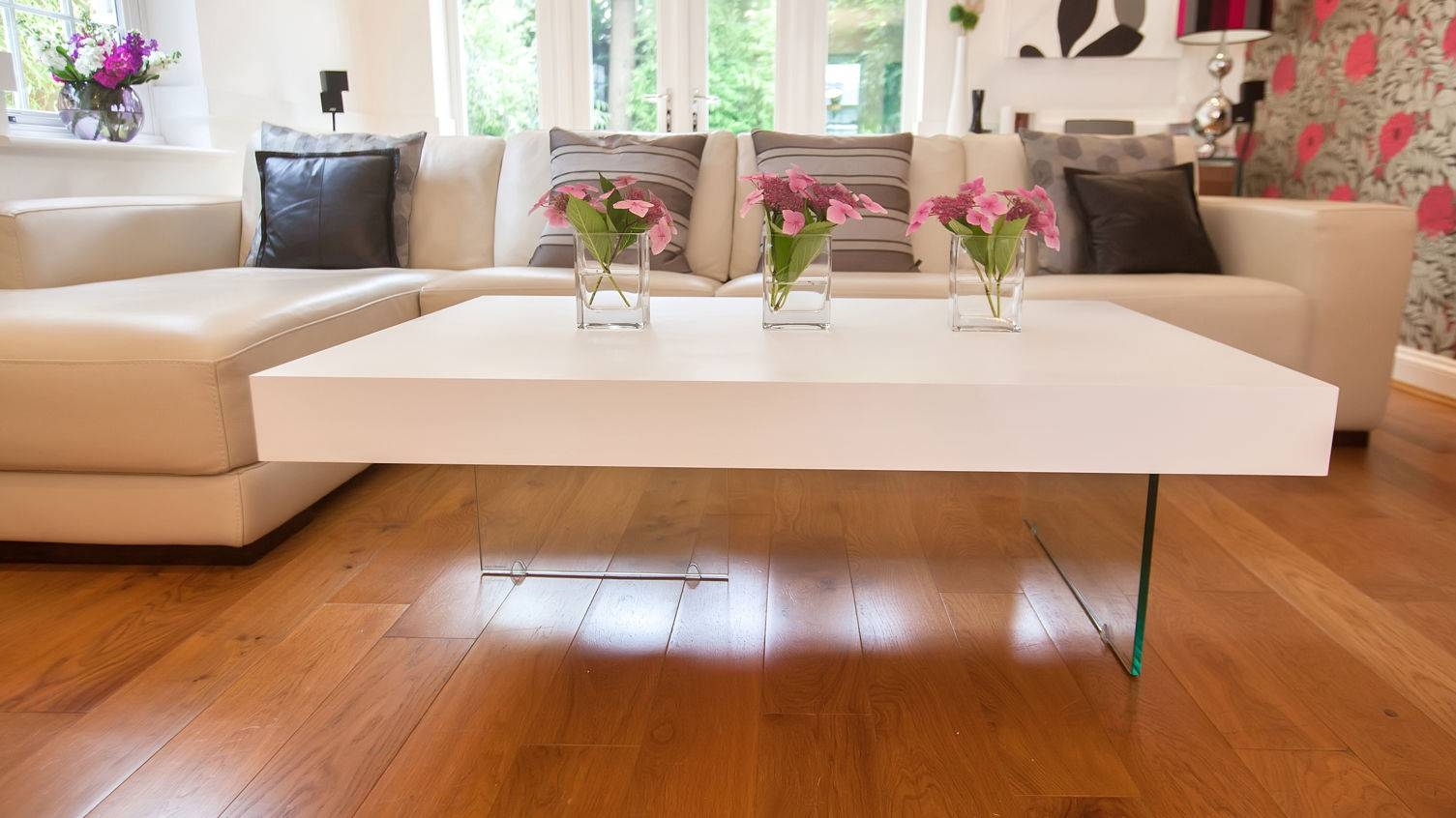 Coffee Table: Charming Large Coffee Table Ideas Large Coffee Table inside White Gloss Coffee Tables (Image 7 of 30)