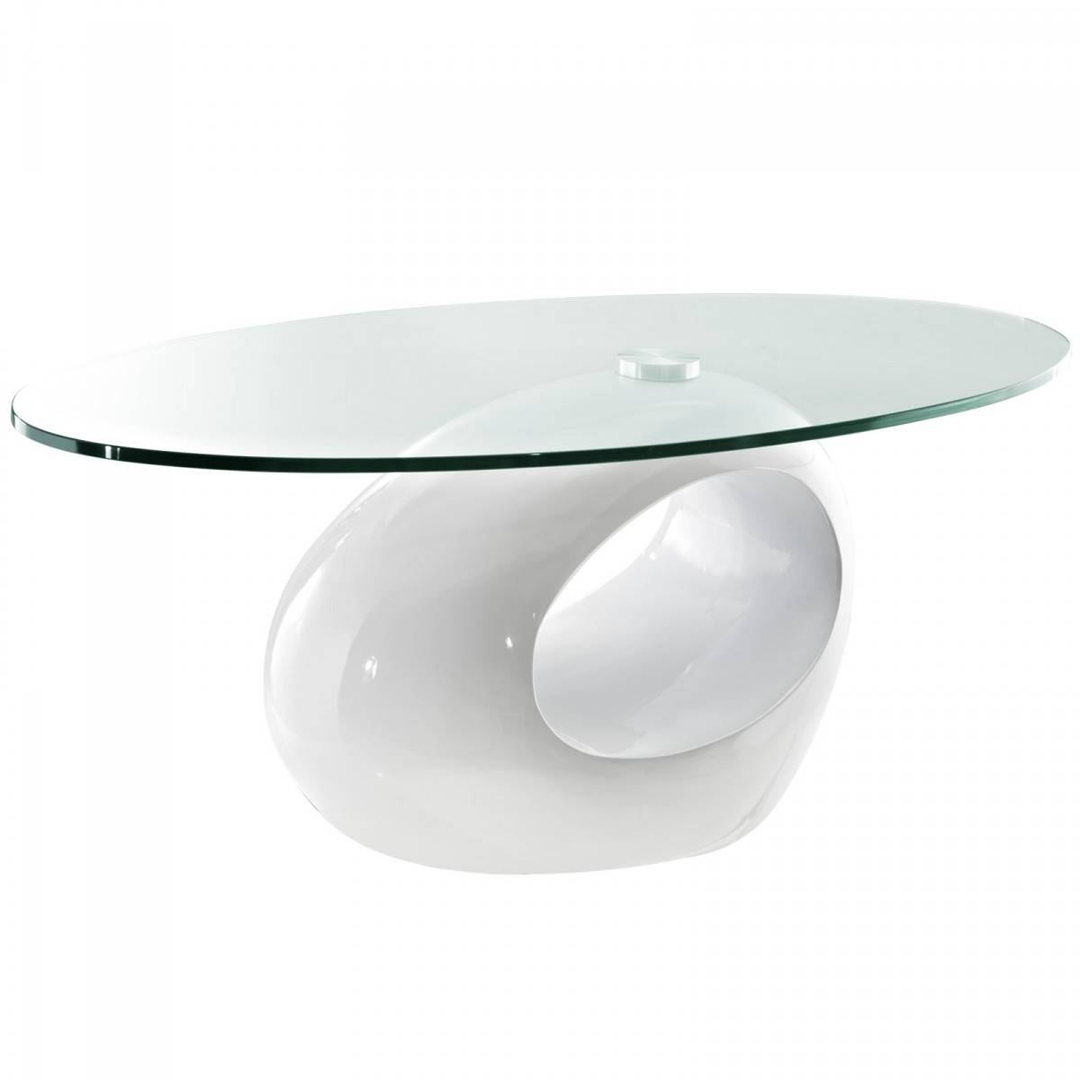 Coffee Table: Charming White Modern Coffee Table Ideas White pertaining to Oval White Coffee Tables (Image 4 of 30)