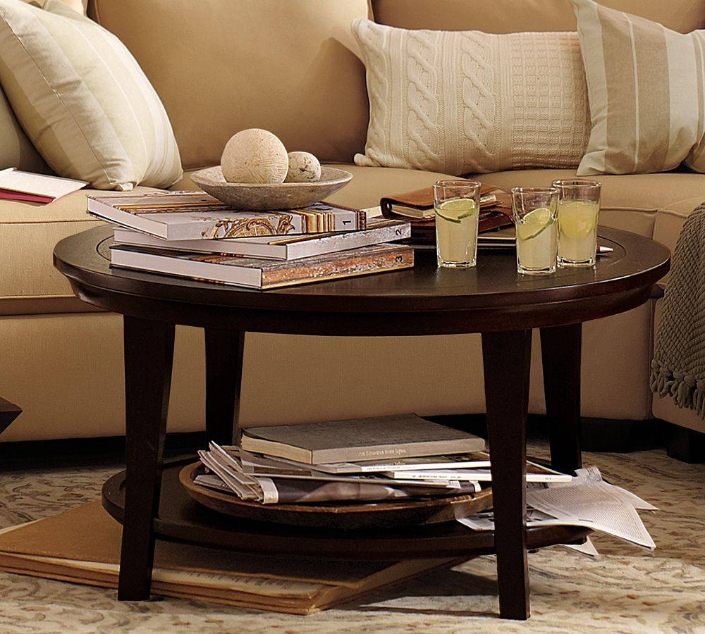 Coffee Table, Chic Small Coffee Table Decorations Design With Red for Red Round Coffee Tables (Image 5 of 30)