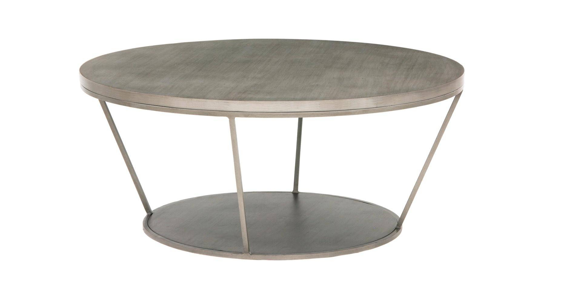 Coffee Table: Circle Coffee Table. Round Coffee Table With Storage within Circle Coffee Tables (Image 10 of 30)