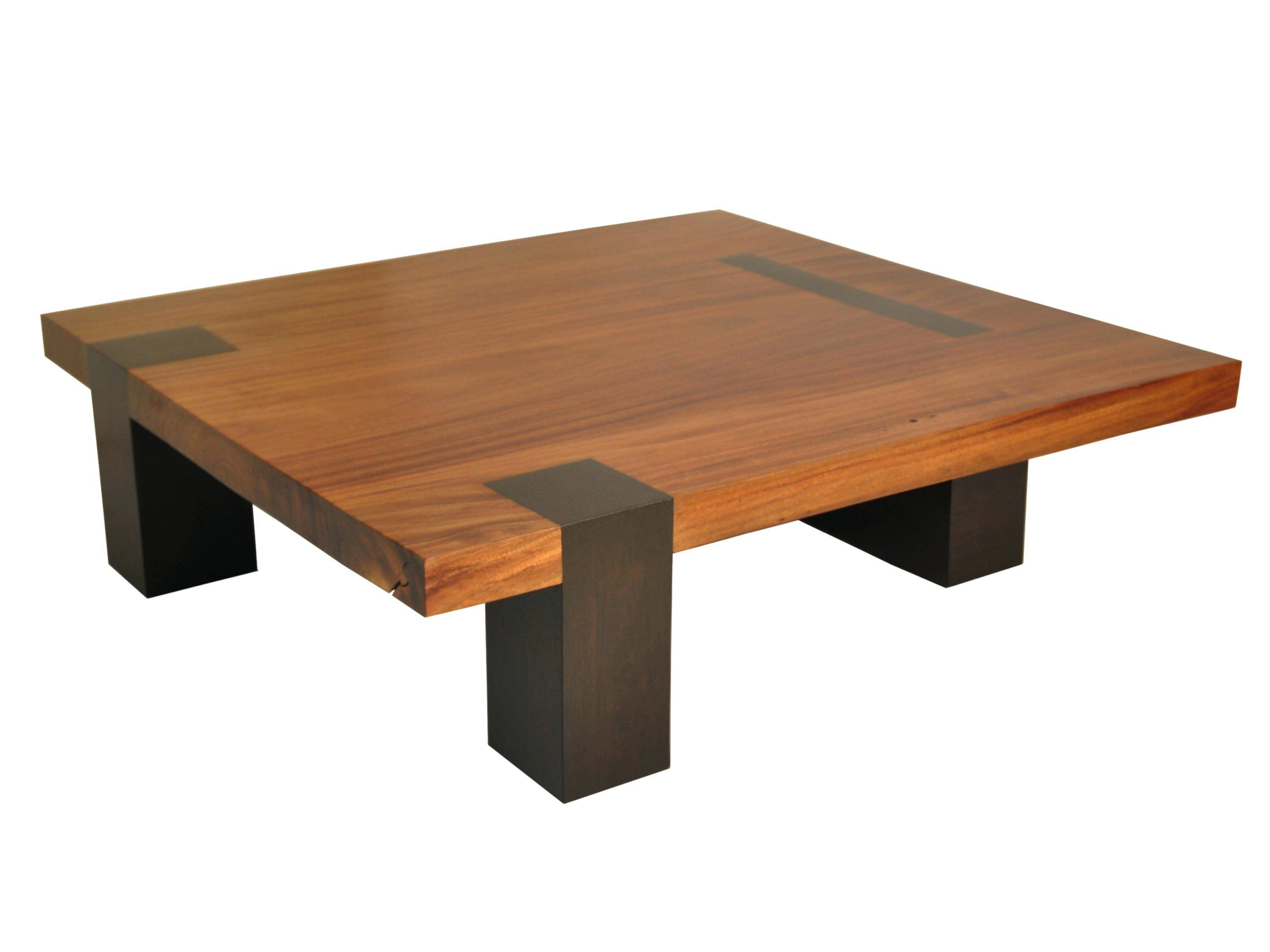 Coffee Table ~ Coffee Table Black Square Modern Wood Low Profile In Large Square Low Coffee Tables (View 13 of 30)