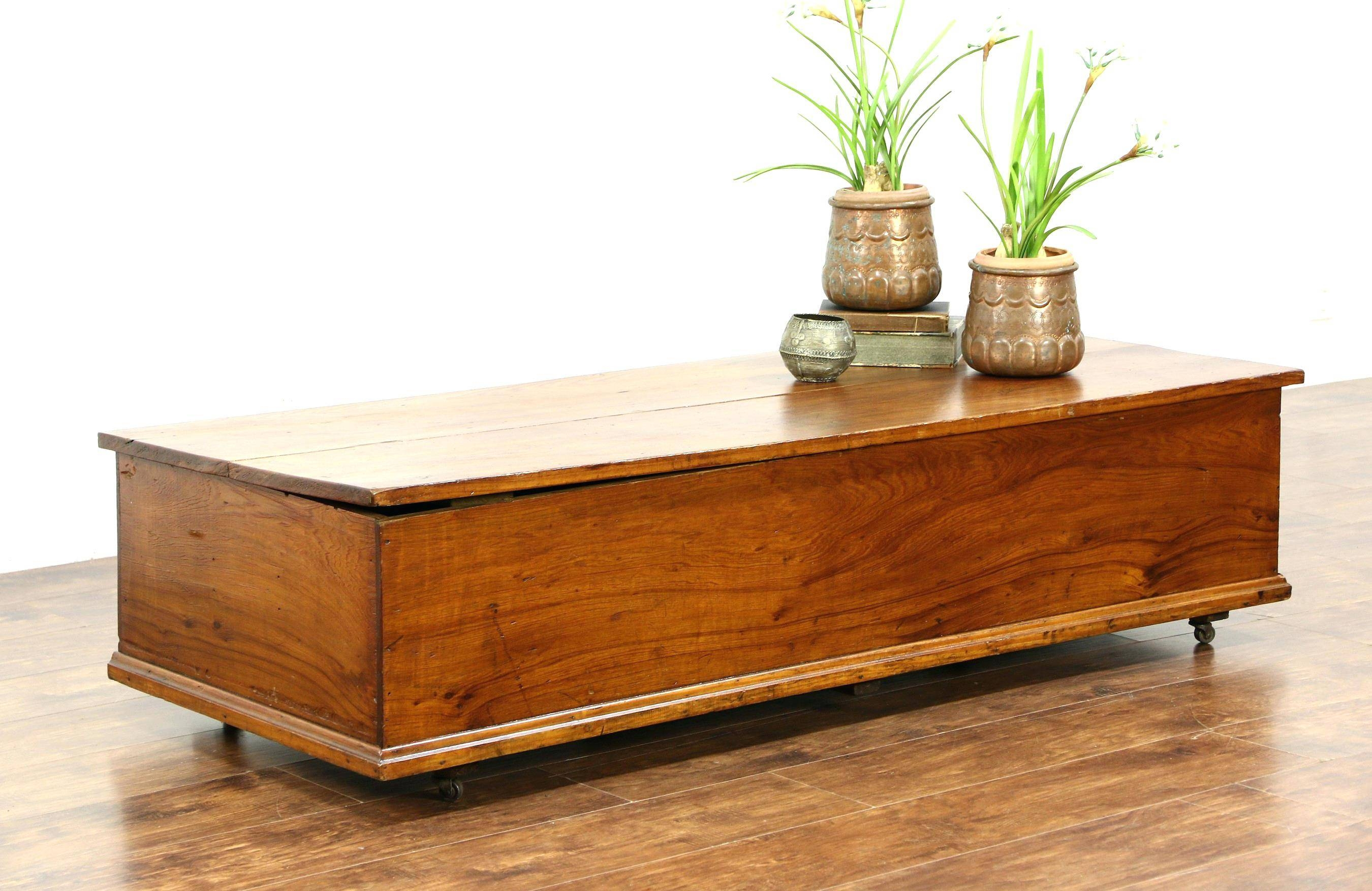 Coffee Table ~ Coffee Table Thakat Mango Square Trunk Storage intended for Square Chest Coffee Tables (Image 1 of 30)