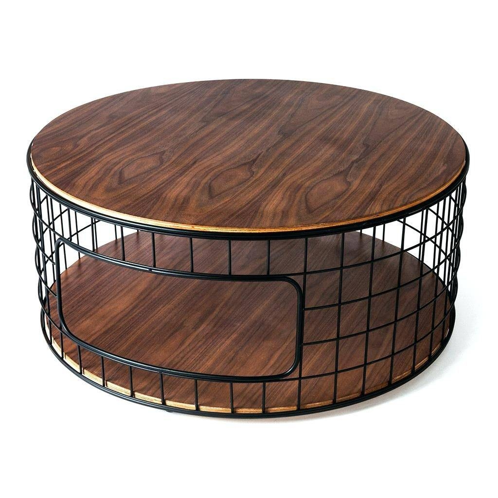 Coffee Table ~ Coffee Tableround Metal Table Ideas Round Tables within Round Steel Coffee Tables (Image 6 of 30)