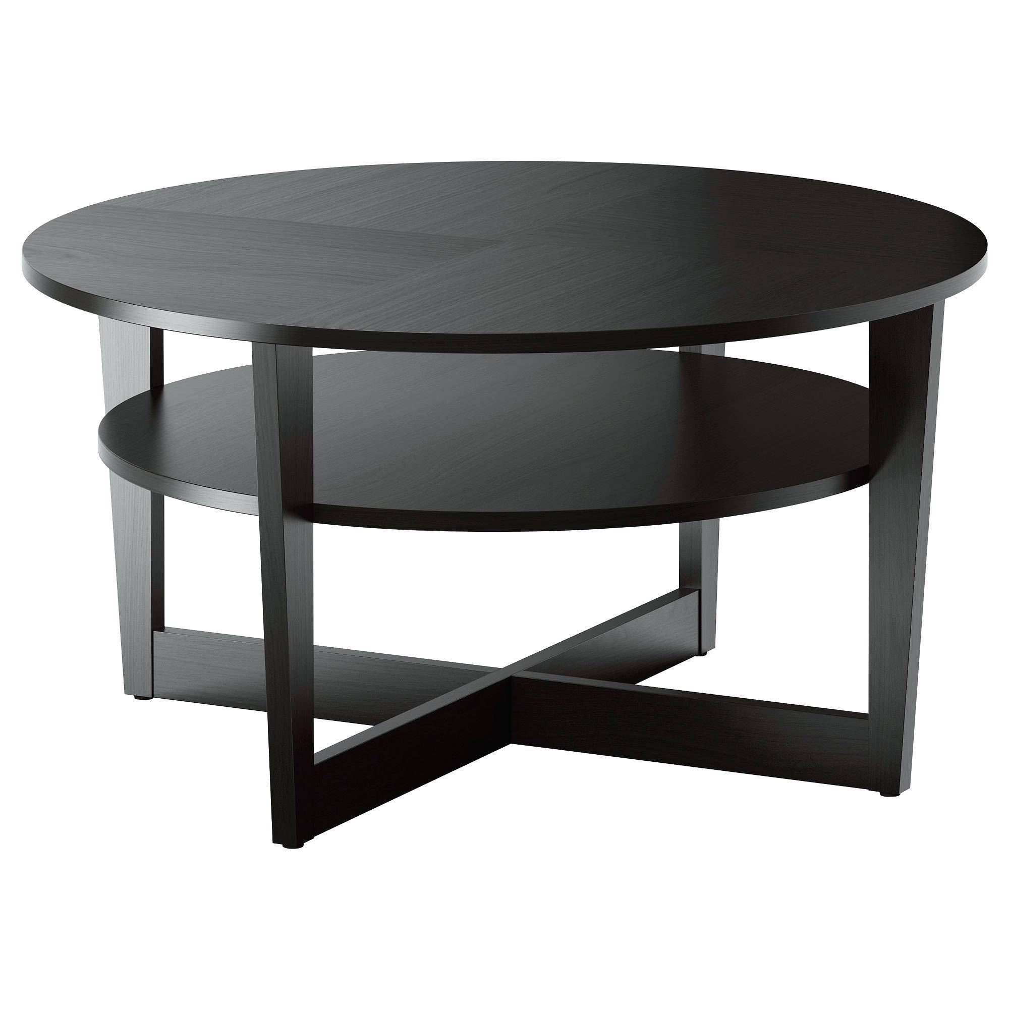 Coffee Table ~ Coffee Tables Round And Walnut Tableblack Couch throughout Clock Coffee Tables Round Shaped (Image 11 of 30)