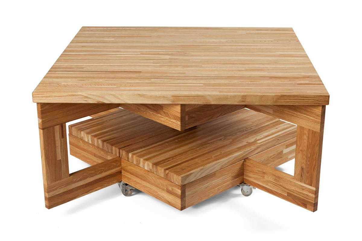 Coffee Table Contemporary Beech Rectangular Ablewheels Beach regarding Beech Coffee Tables (Image 10 of 30)