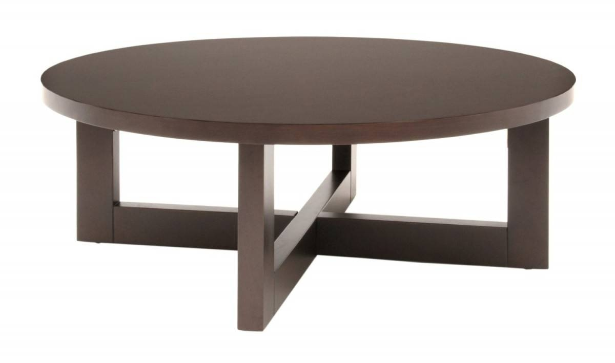 Coffee Table: Contemporary Round Coffee Table Contemporary Square within Circular Coffee Tables (Image 10 of 30)