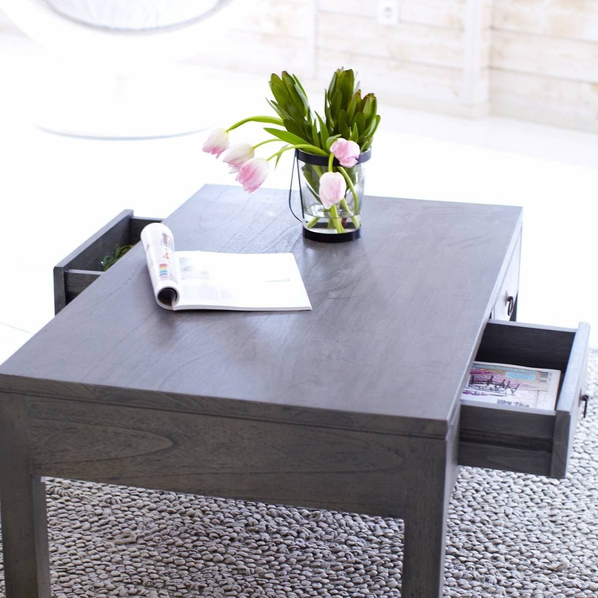 Coffee Table: Cool Gray Wood Coffee Table Design Ideas Gray Coffee throughout Gray Wood Coffee Tables (Image 13 of 30)
