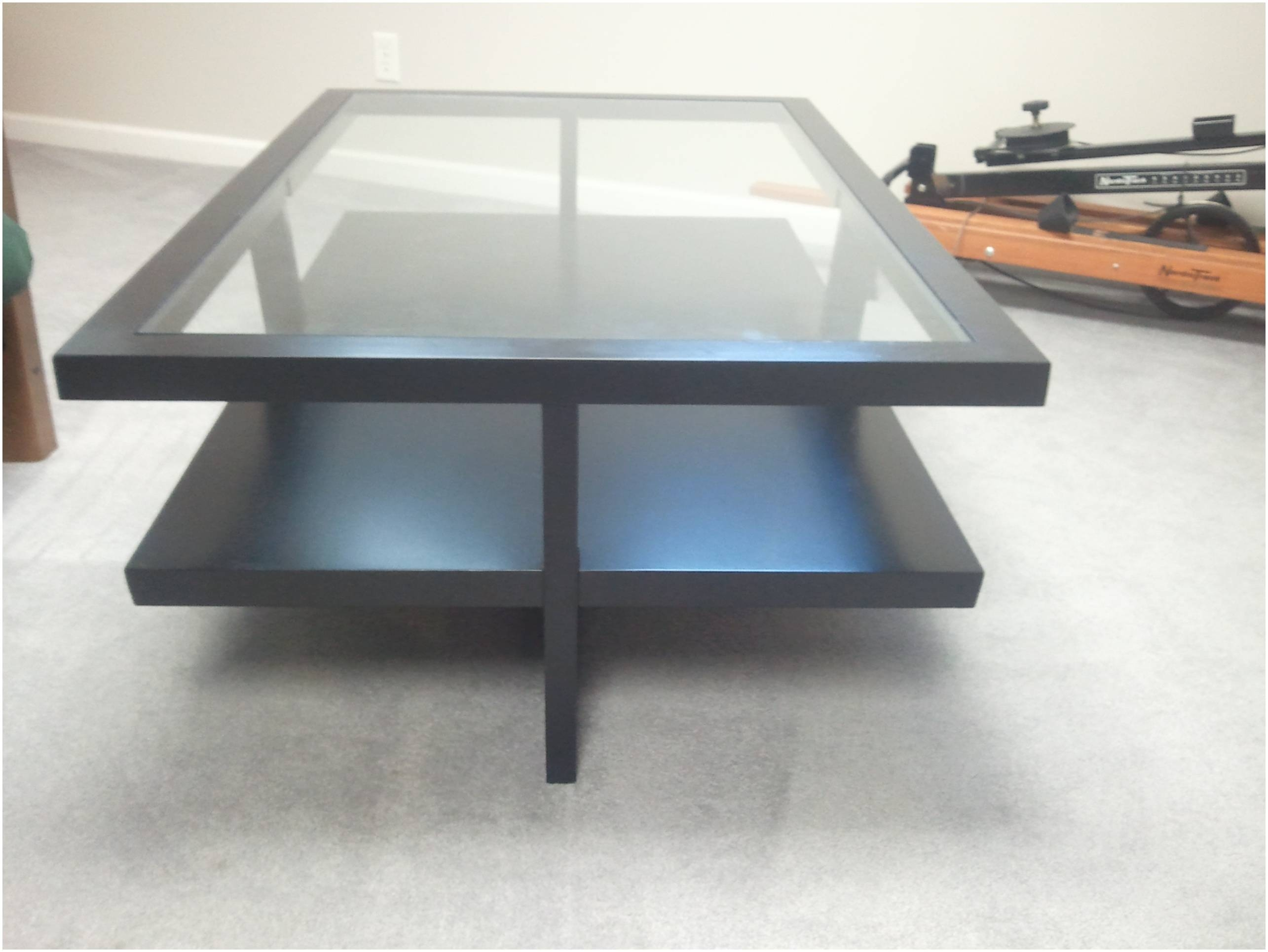 Coffee Table: Cool Modern Glass Coffee Table Design Ideas Modern intended for Glass Coffee Tables With Storage (Image 11 of 30)