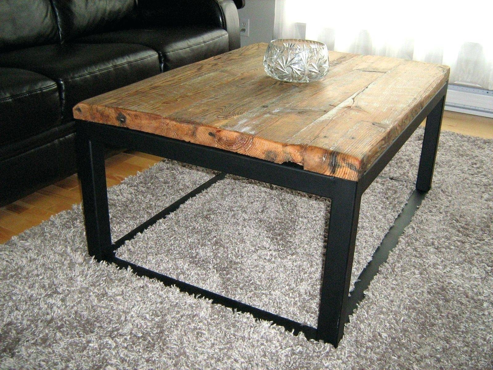 Coffee Table ~ Creative Raw Wood Coffee Table With Storage And throughout Black Coffee Tables With Storage (Image 7 of 30)