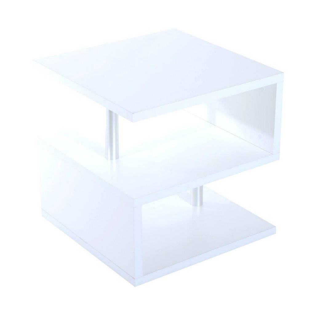 Coffee Table ~ Cube Coffee Tablewhite Table White Gloss White Cube throughout White Cube Coffee Tables (Image 5 of 30)