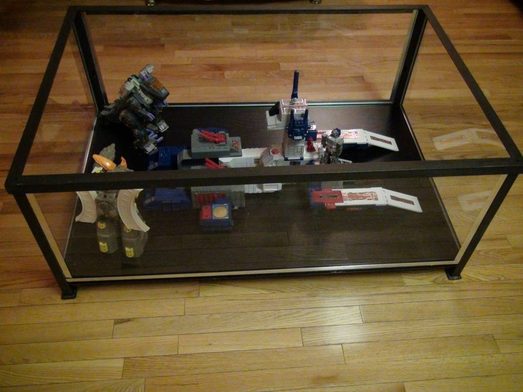 Coffee Table Display Case Glass Top Ikea | Coffee Tables Decoration with Glass Top Display Coffee Tables With Drawers (Image 3 of 30)