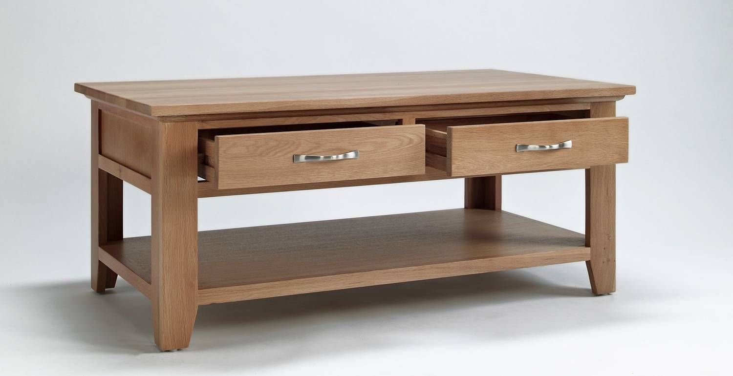 Coffee Table Drawers Uk : Thesecretconsul pertaining to Coffee Tables With Shelves (Image 5 of 30)