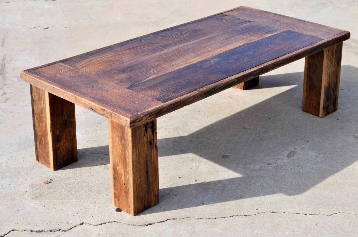 Coffee Table: Elegant Barnwood Coffee Table Ideas Reclaimed Wood with Rustic Barnwood Coffee Tables (Image 7 of 30)