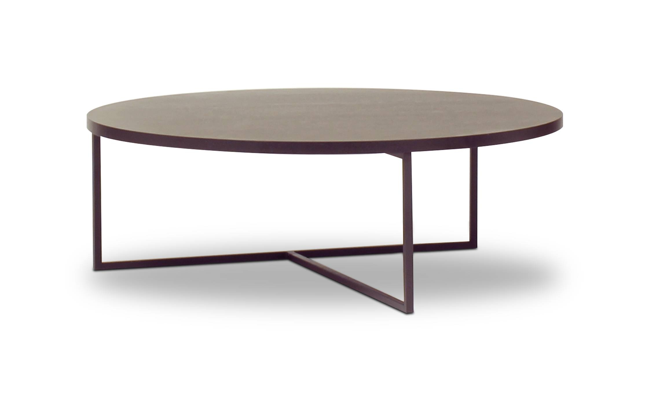 Coffee Table: Enchanting Black Round Coffee Table Designs Round with Black Circle Coffee Tables (Image 16 of 30)