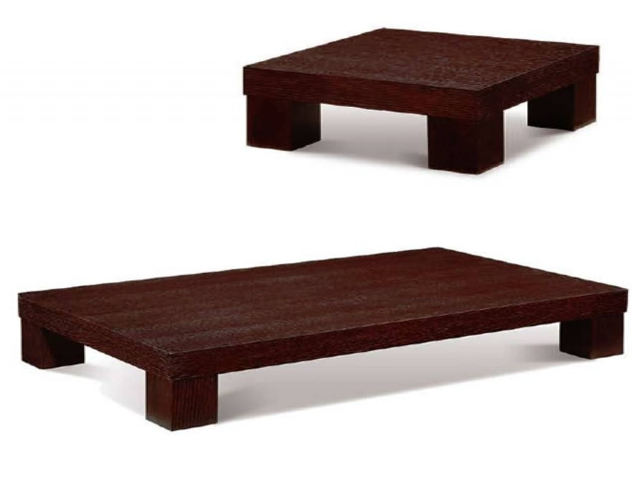 Coffee Table: Enchanting Low Profile Coffee Table Designs Best In Large Low Wooden Coffee Tables (View 19 of 30)