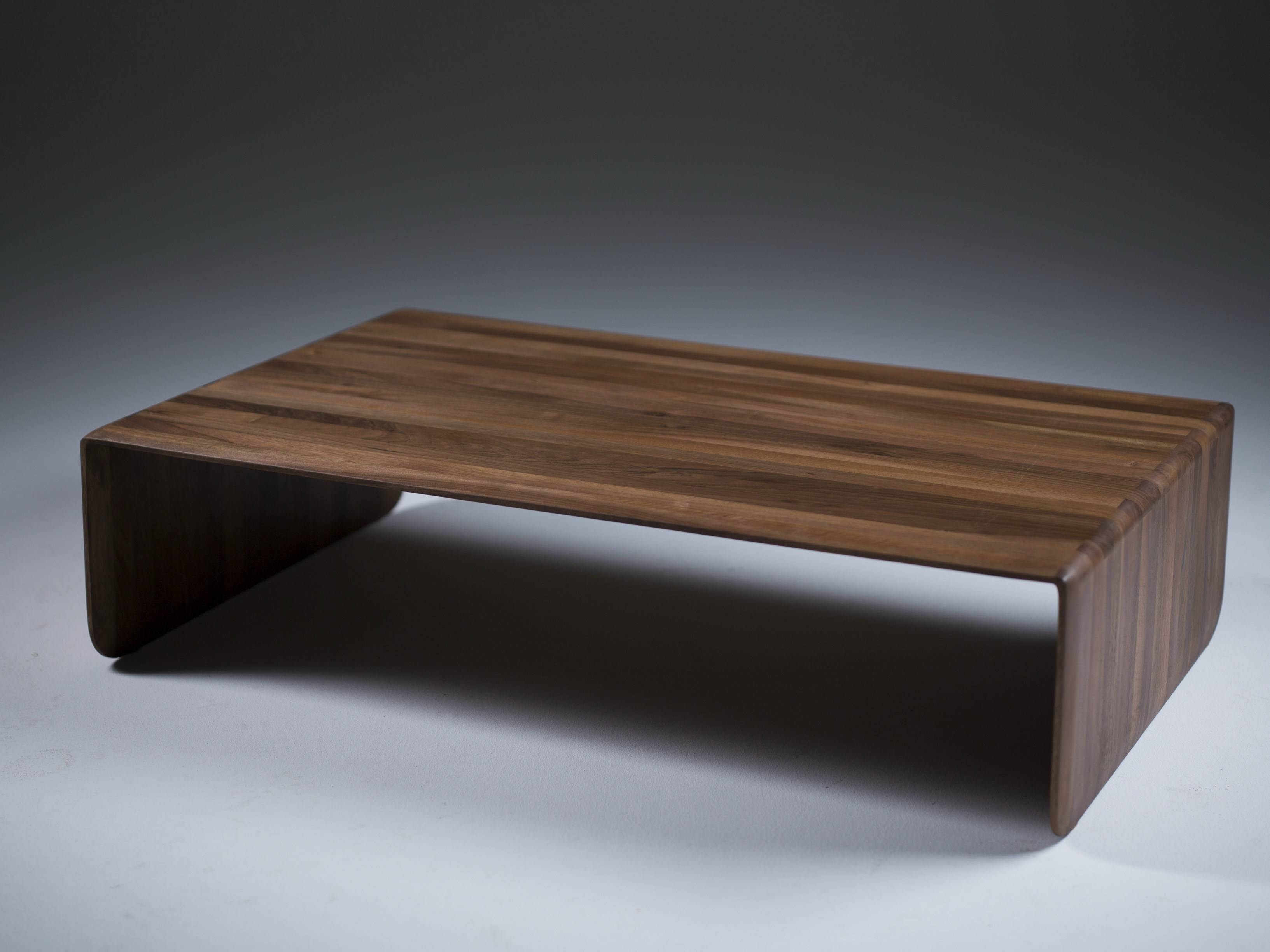 Coffee Table: Enchanting Low Profile Coffee Table Designs Best Within Solid Wood Coffee Tables (View 9 of 30)
