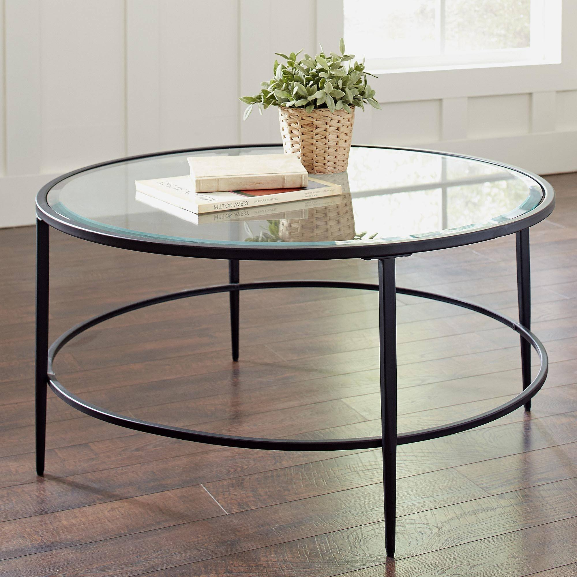 Coffee Table: Enchanting Round Glass Coffee Tables For Sale Round intended for Circle Coffee Tables (Image 11 of 30)