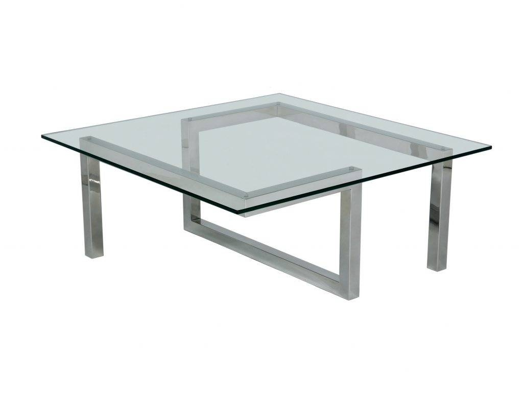 Coffee Table: Enchanting Square Glass Coffee Table Design Ideas with Simple Glass Coffee Tables (Image 14 of 30)
