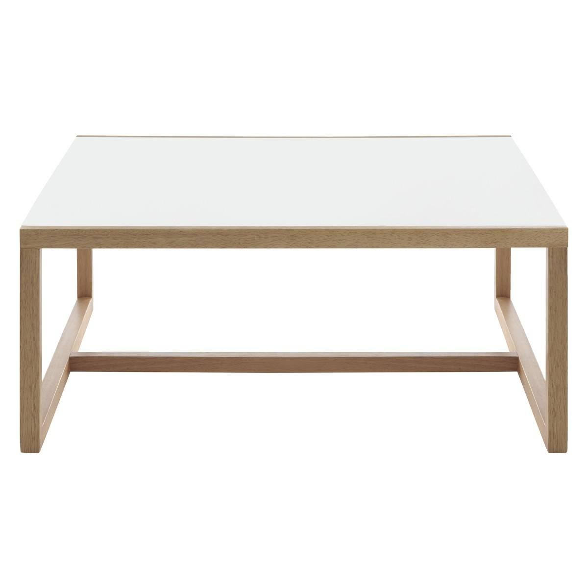 Coffee Table: Enchanting White Square Coffee Table Designs White intended for White Coffee Tables With Storage (Image 5 of 30)