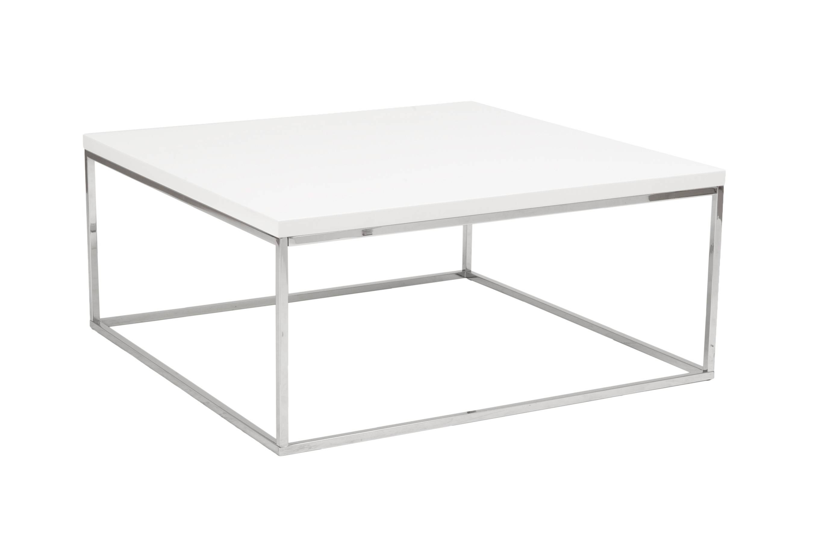 Featured Photo of White Square Coffee Table