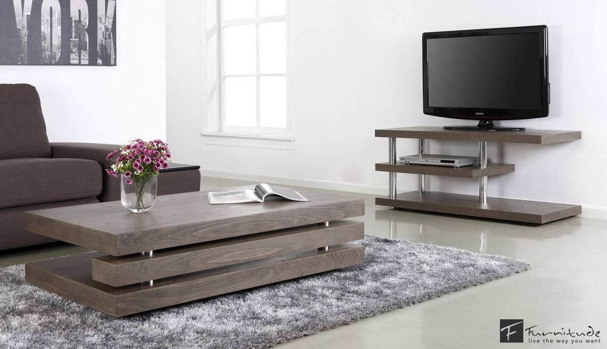 Coffee Table End Tv Stand Sets Addicts Set O / Thippo inside Rustic Coffee Tables And Tv Stands (Image 4 of 30)