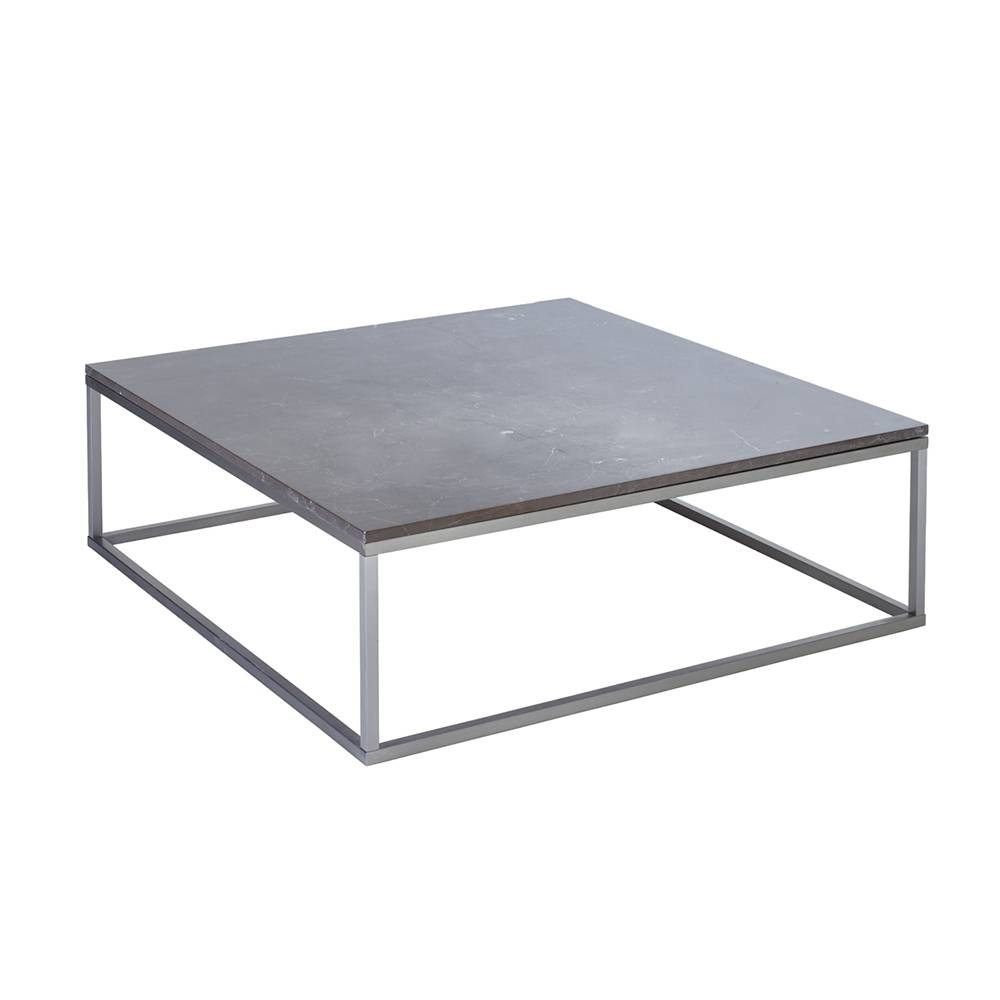 Coffee Table: Excellent Black Square Coffee Table Design Ideas inside Square White Coffee Tables (Image 6 of 30)
